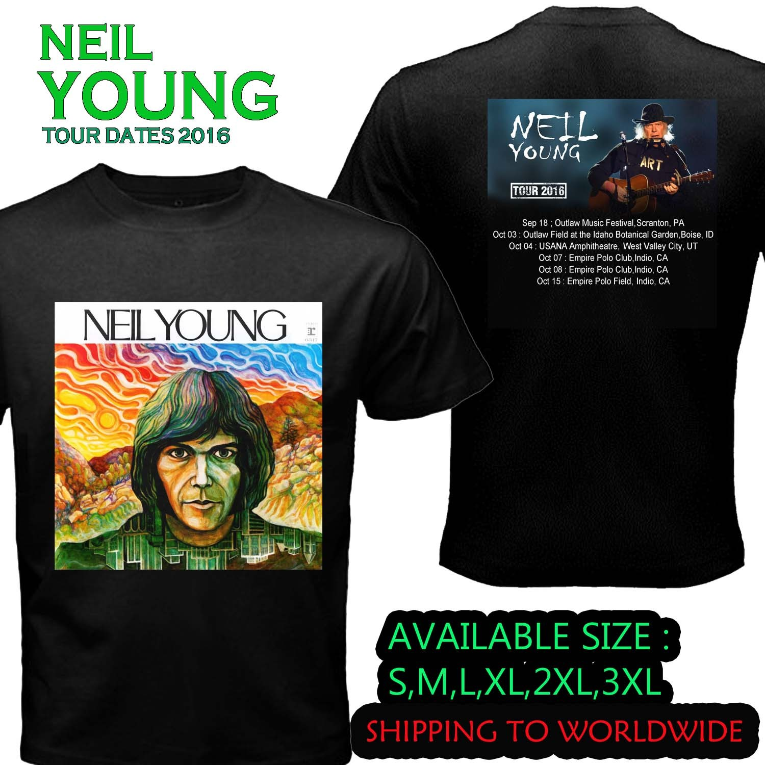 Neil young tour dates in Perth
