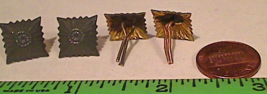 (4) Repro German WWI Officer Shoulder Board Pips Rank Insignia NOS Subdu... - $10.00