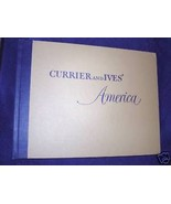 CURRIER & IVES' AMERICA, HARDCOVER, 1952 - $119.95