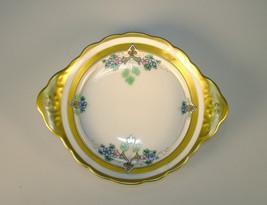 W A Pickard China Hand Painted Small Dish Gold Rim - $79.95