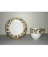 Vintage Nippon Hand Painted Porcelain Demitasse Cup & Saucer - $84.95