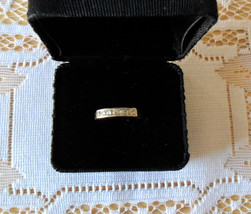Sterling Silver Ladies Ring 6 Stones Size 9 - $79.95