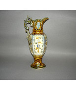 "Antique Majolica Ewer 12"" - $695.00"