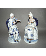 KPM Porcelain Victorian Couple Japan - $449.95