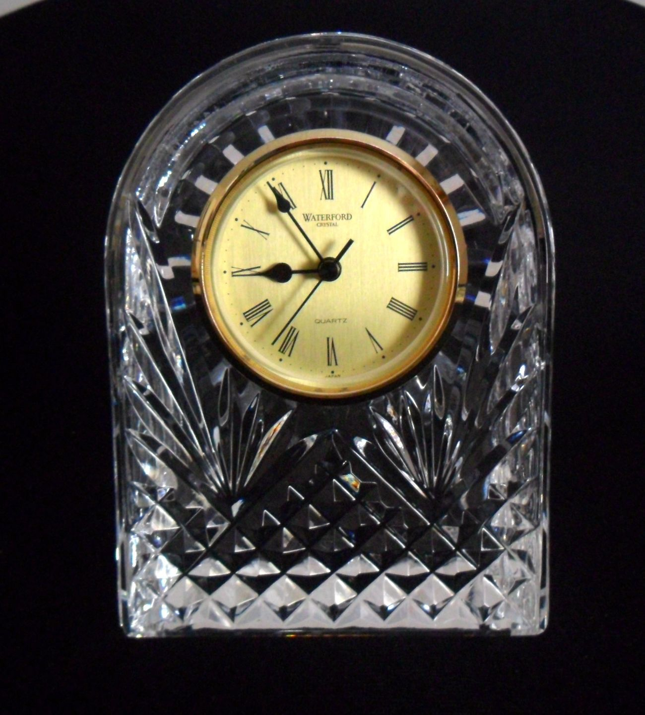 "Primary image for Waterford Crystal Arched Clock 6 1/2"" Tall"