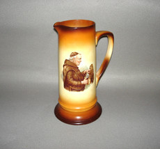 "Antique 1930's Friar Monk Tapping a Keg Tankard 12"" - $249.95"