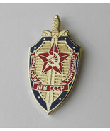 RUSSIAN RUSSIA CCCP SOVIET KGB BLUE GOLD COLOR ... - $5.50