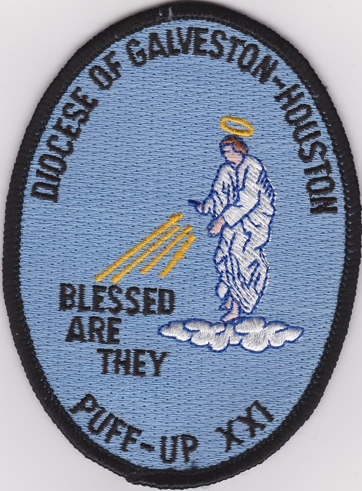 BSA - Patch Puff-UP XX! - Diocese of Galveston-Houston