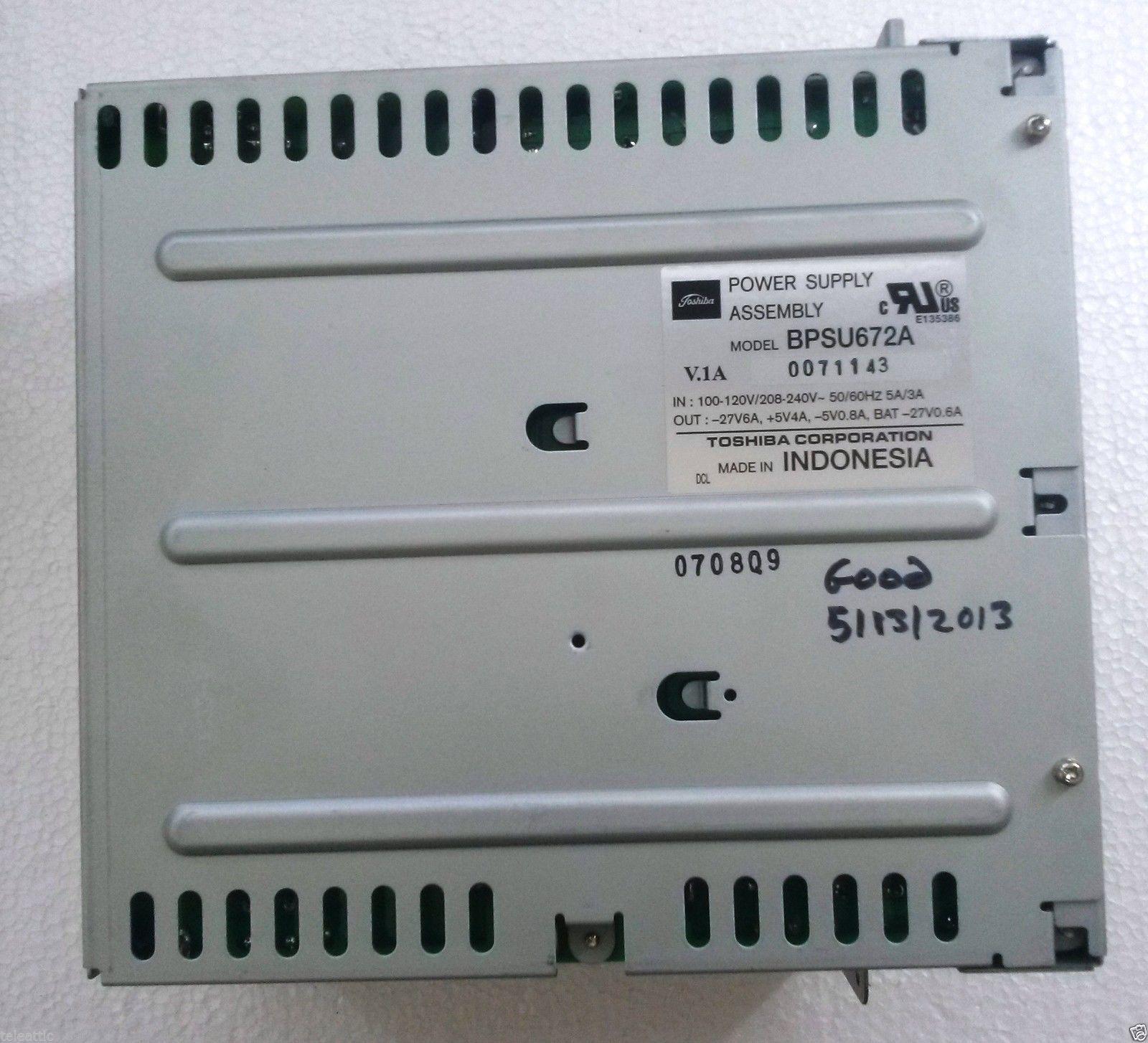 TOSHIBA DK424 POWER SUPPLY BPSU672A