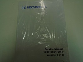 1997 2001 honda crv service repair shop manual factory book brand new - $109.43