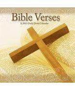 "Bible Verses 2013 Daily Boxed Calendar 4.75"" x 4.75"" - $9.79"