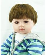"New 22"" Soft Vinyl Silicone Reborn Baby Dolls Lifelike Dolls X-MAS Gift ... - $112.19"