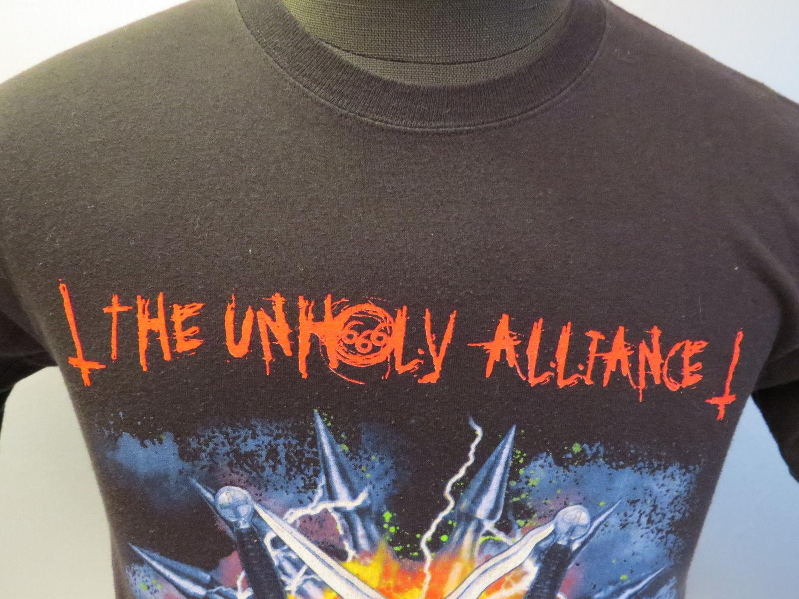 The Unholy Alliance Tour (Slayer) Shirt - 2006(66) Tour - Men's Small