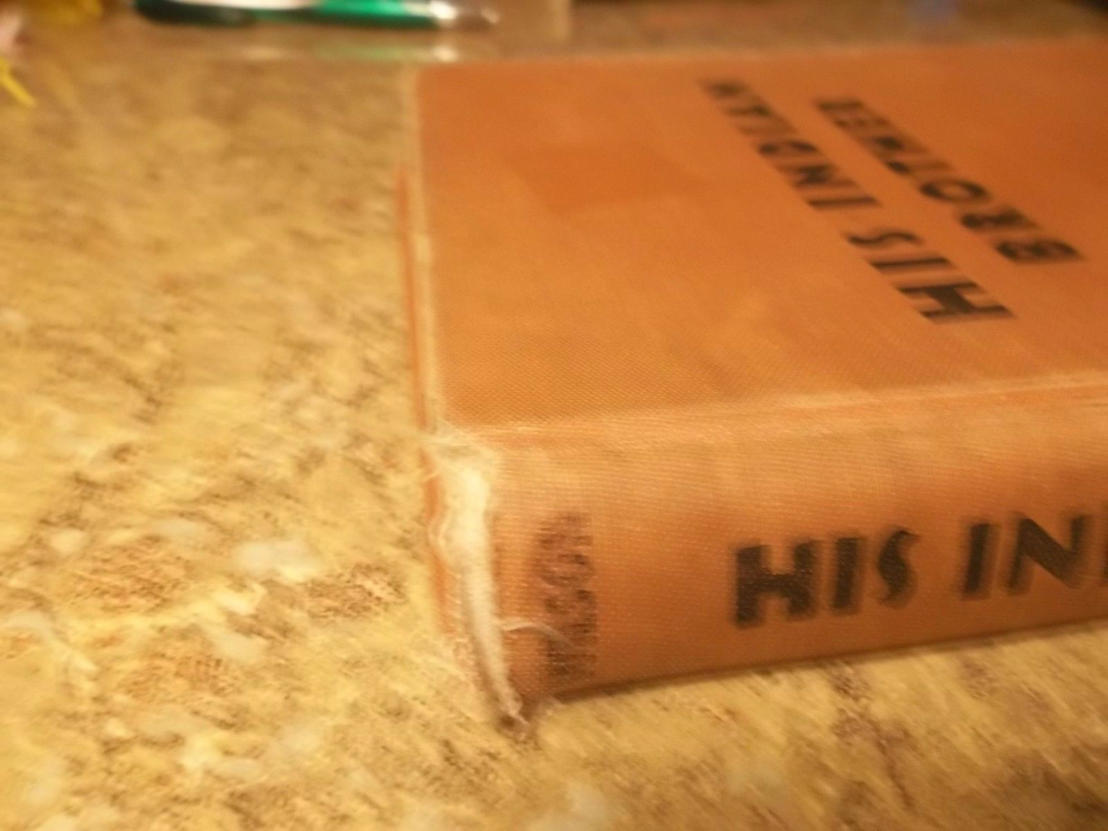 His Indian Brother by Hazel Wilson 1955 Hardcover