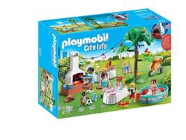 PLAYMOBIL 9272 Housewarming Party Building Set City life Best Toy For Kids - $43.00