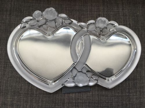 celebrations by mikasa double heart picture frame 1500