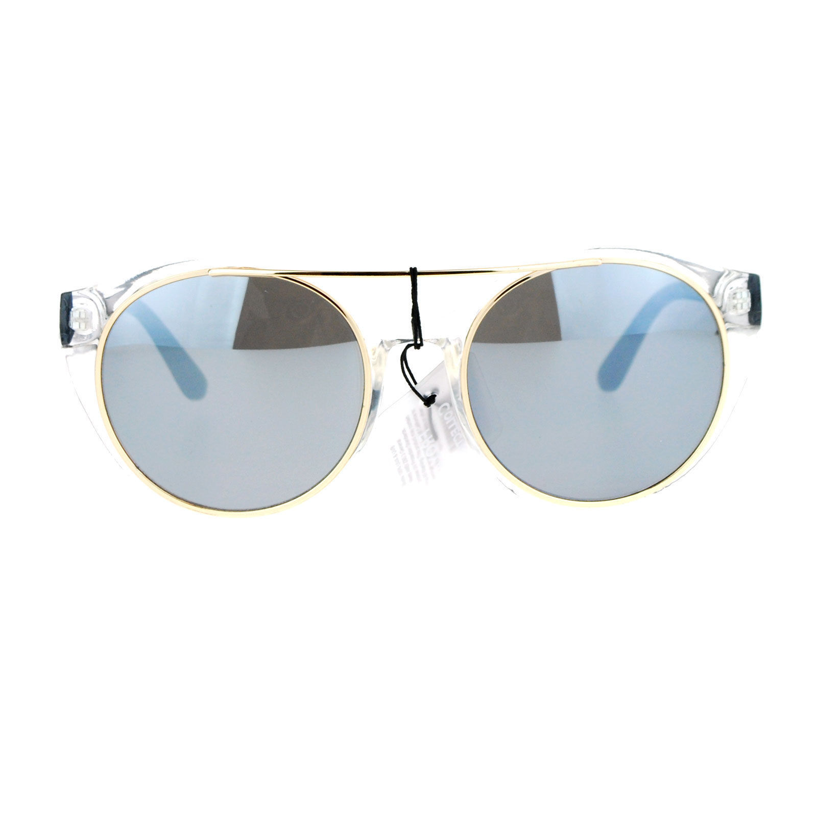 Womens Sunglasses Unique Wing Frame Metal Outline Stylish Shades