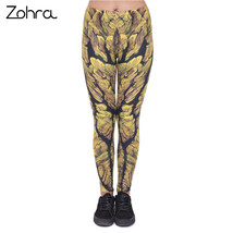 Zohra Unique Design Women Legging Groot Printing Leggings Fashion Cozy H... - $30.80
