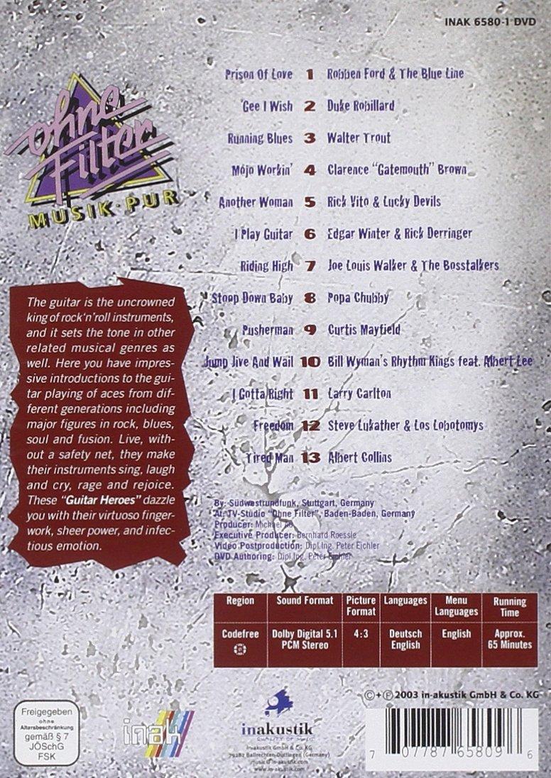 Guitar Heroes: In Concert [DVD]