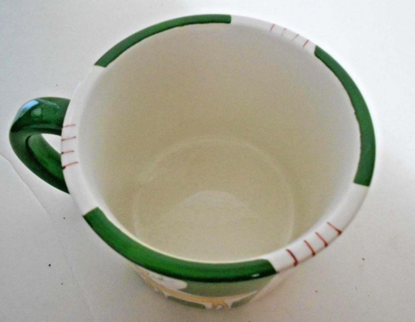 Eddie Bauer Celebrate Reindeer Xmas Holiday Ceramic Mug 16 oz