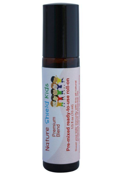 Aromata Immune Boosting Essential Oil Blend For Kids Organic Safe Easy to Apply