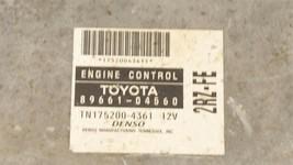 Toyota Tacoma 2RZ-FE 4x2 ECM ECU BCM Computer Brain 89661-04560 TN 175000-4361 image 2