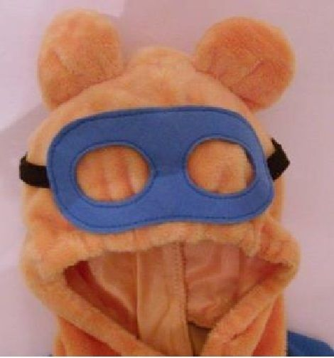 Disney Store Super Sleuth Winnie the Pooh Baby Costume Infant 12 Months