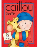 Caillou Giraffe: With Stickers (Merry-Go-Round) Tipeo - $19.35