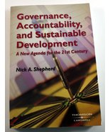 Governance, Accountability, and Sustainable Developmemt: A New Agenda fo... - $47.04