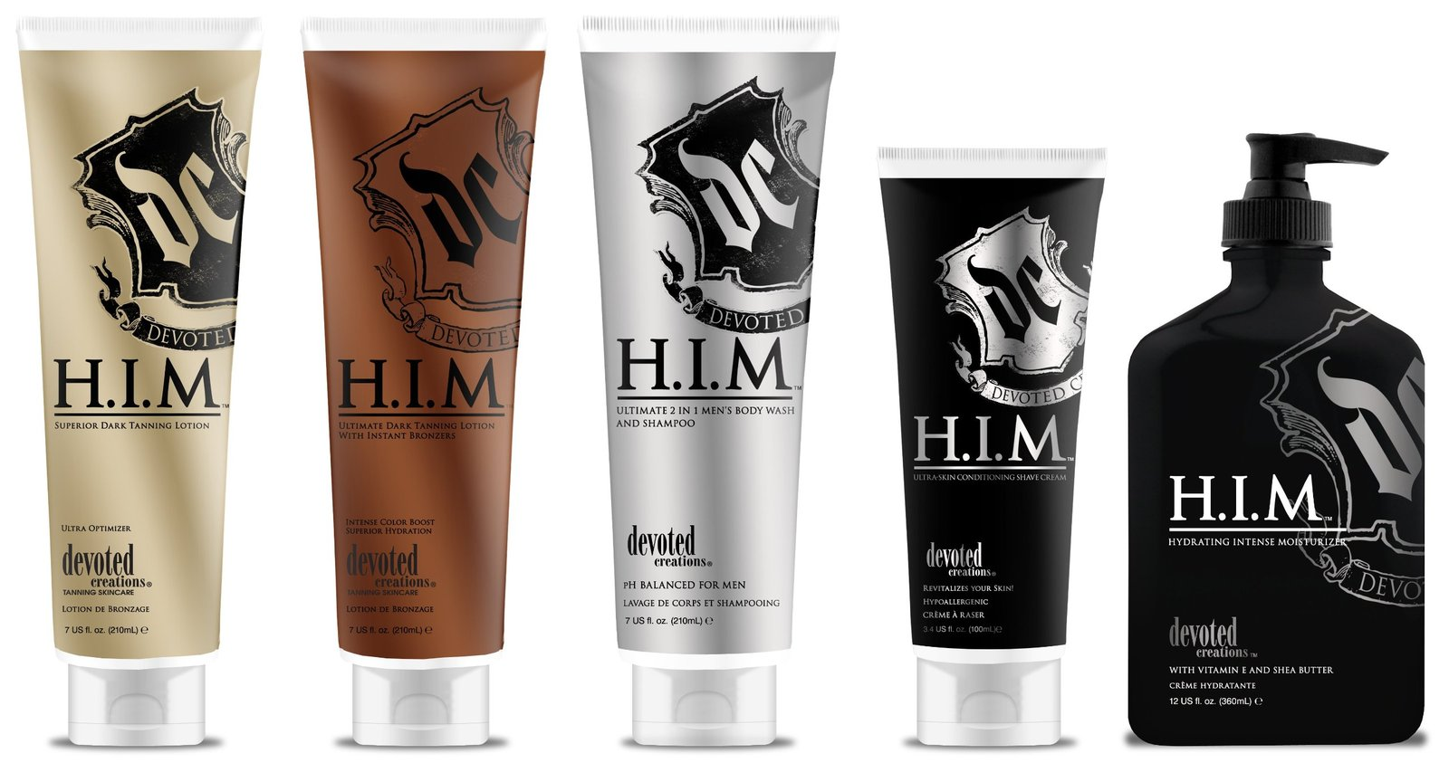 Brand New H.I.M. SHAVING CREAM by DEVOTED CREATIONS