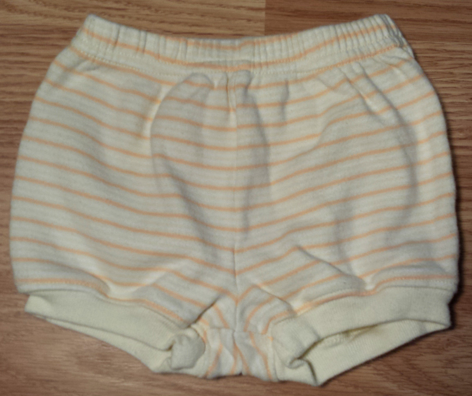 Boy's Size 3-6 M Months Two Piece Brown Monkey Babyworks Top & Bloomer Shorts