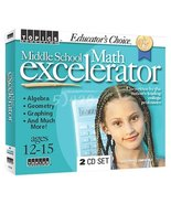 Educator's Choice Middle School Math Excelerator (Jewel Case) - $32.34