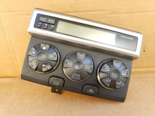 03-04 Toyota 4runner Air AC Heater Climate Control Panel Dash Clock (II)
