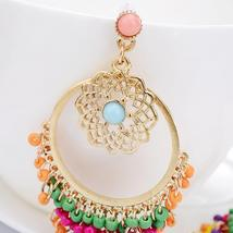 Beautiful Women Bohemian Vintage Elegant Carved Noble Earrings - $19.58 CAD