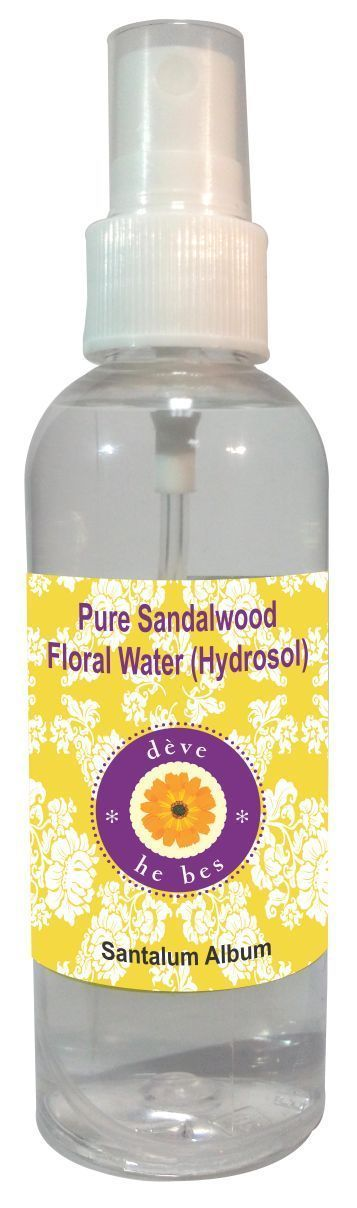 dève herbes Natural Sandalwood Hydrosol (Floral Water) 100ml - Santalum Album