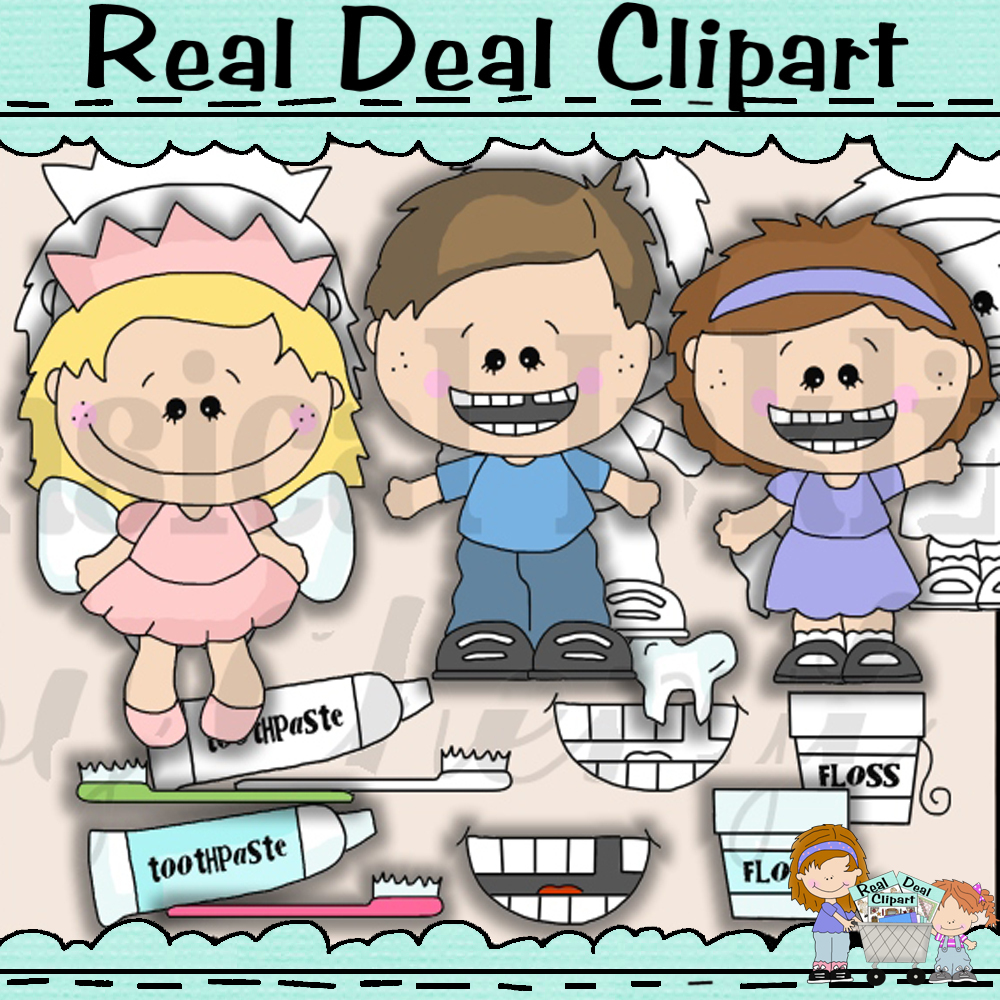 Tooth fairy littles clipart