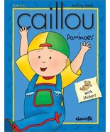 Caillou Dominoes: With Stickers (Merry-Go-Round) Beaulieu, Jeannine - $9.79