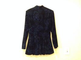Ladies Evening Gunne Sax by Jessica McClintock Black Velvet Sparkly Jacket Size? image 2