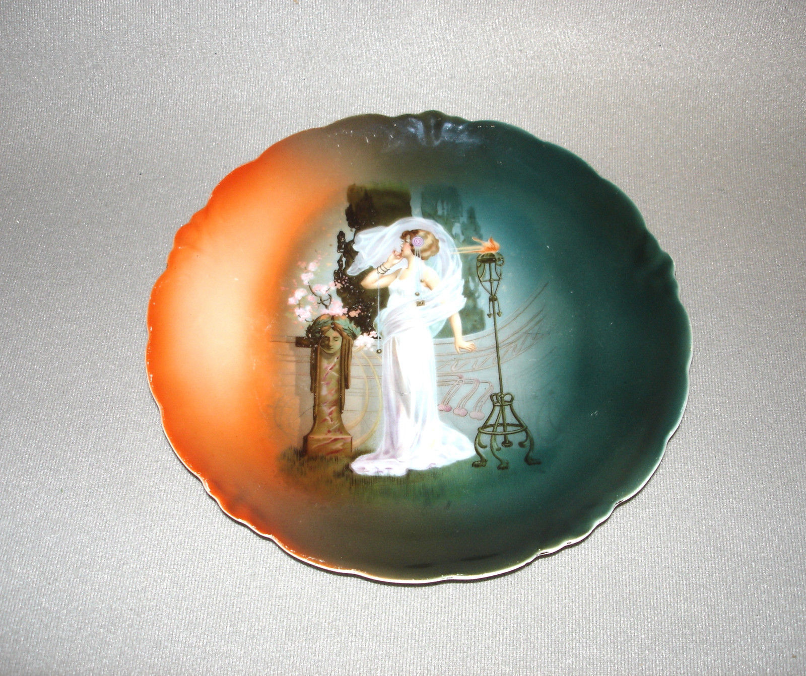 J & C Malmaison Bavaria Porcelain Plate