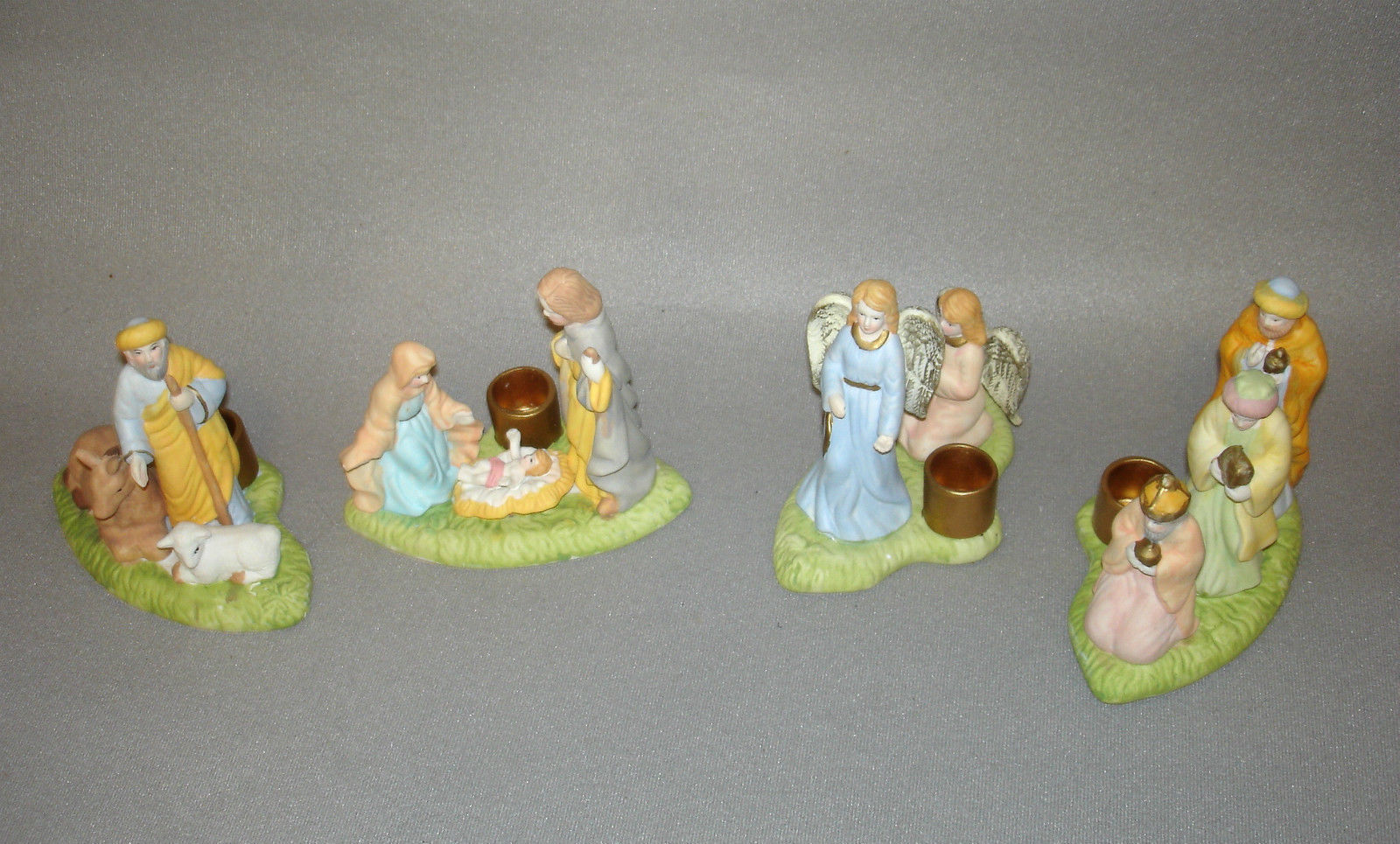 Especially For You Expressions of Faith Nativity Candle Holders Set