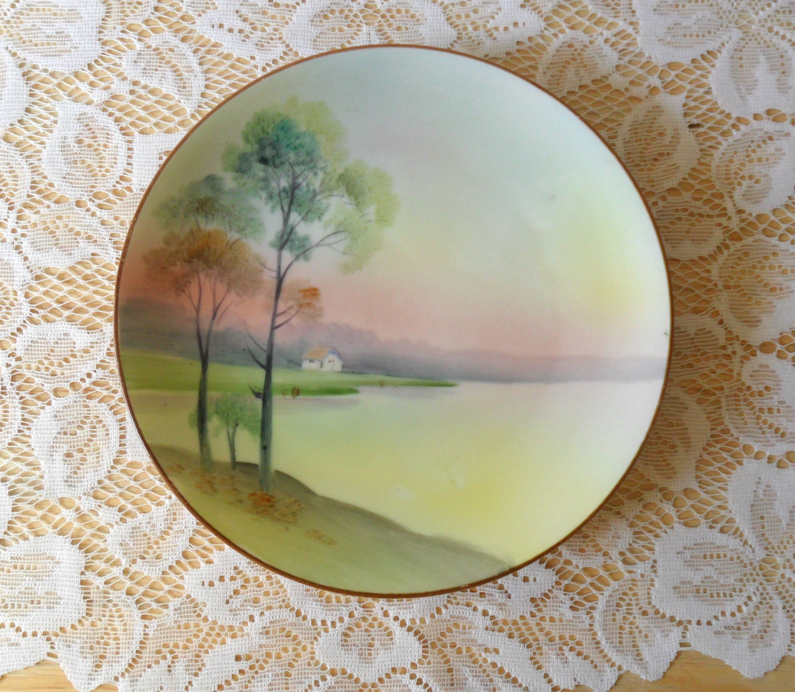 NIPPON Hand-Painted Small Plate