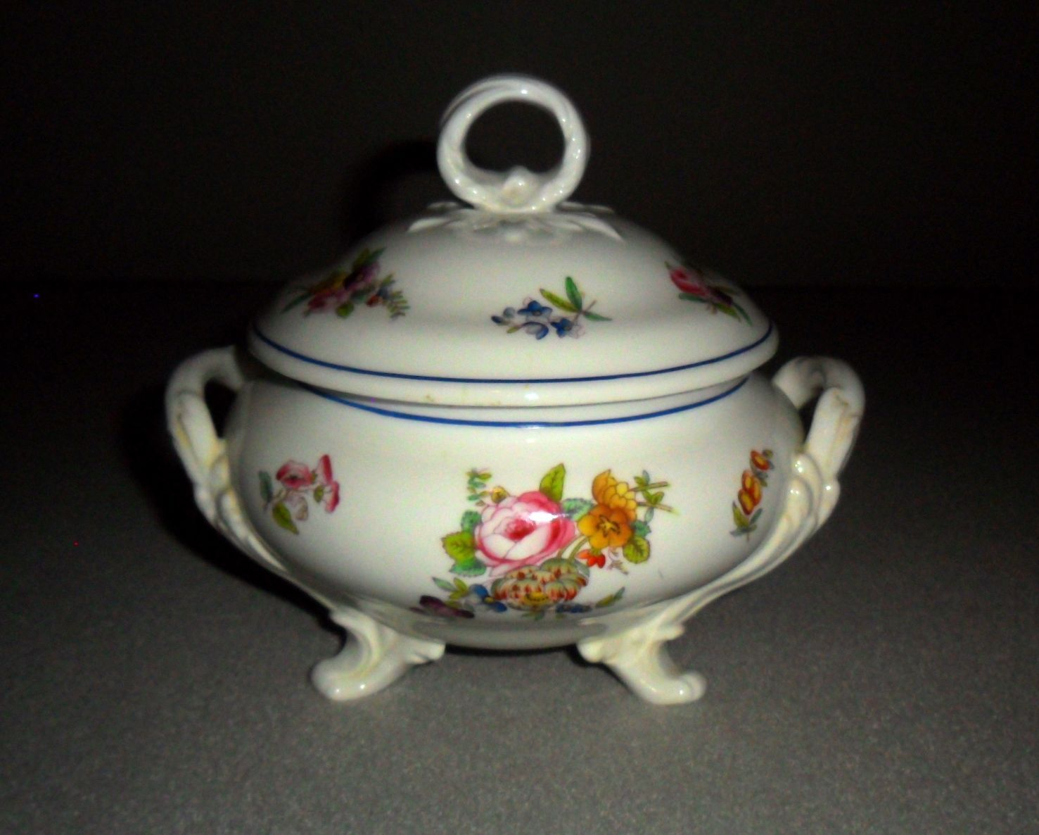 Antique Minton Ironstone Covered Sauce Tureen (very nice)