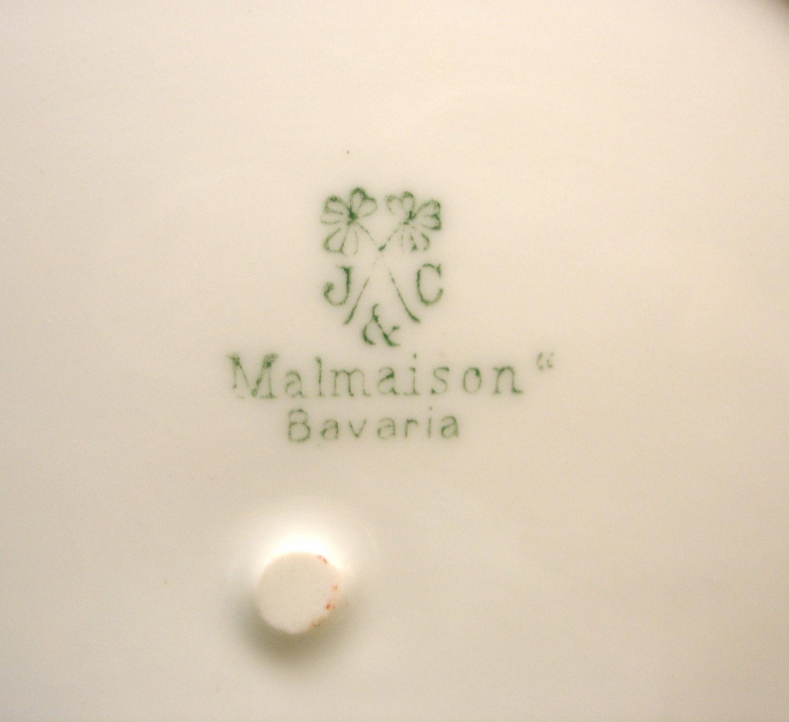 J & C Malmaison Bavaria Porcelain Large Berry Bowl Serving Dish