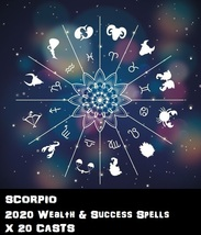 Scorpio Star Sign 20 X Wealth Spells Cast Voodoo Pin Point Exact Work - $30.00