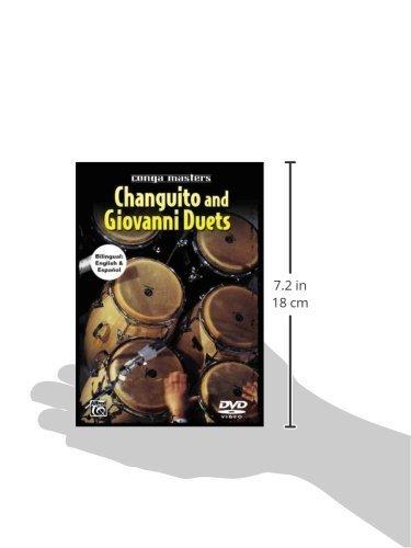 Alfred Conga Masters Changuito and Giovanni Hidalgo Duets