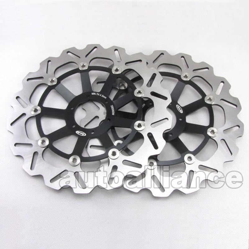 Black Front Brake Disc Rotor Pad for Honda CBR900RR 919 98-99 1998-1999