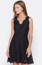NEW AUTH Joie $298 Nikolina B Lace Dress, Black / Caviar  - $139.00
