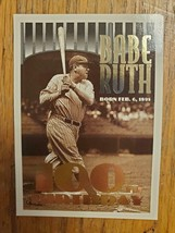 1995 Topps #3 ERROR CARD ~ Babe Ruth ~ New York Yankees ~ Baseball Card ... - $4.89