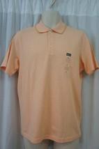 Alfani Mens Casual Shirt Sz S Orange White Striped Combo Collared Short ... - $19.71