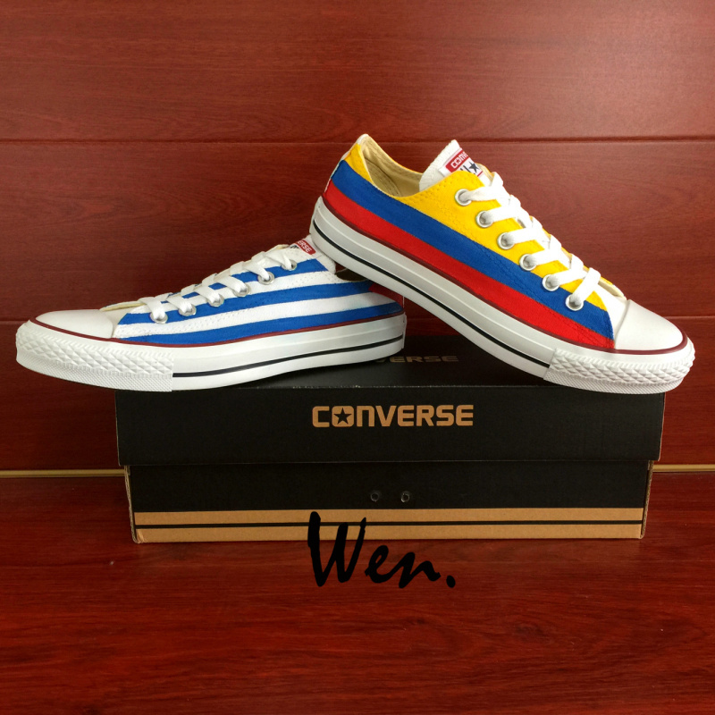 4f1512c582e6 Low Top Converse All Star Cuba Columbia Flag and 50 similar items. Img 2275